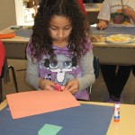 Ashante' is working on the buildings.